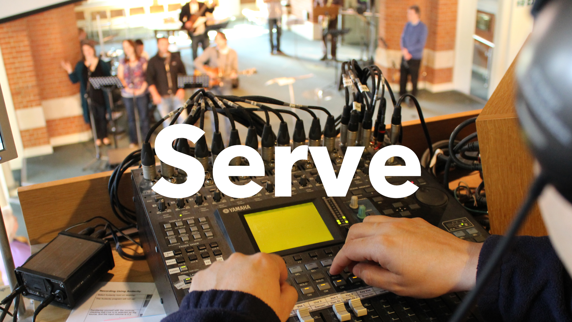 serve website